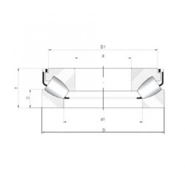 ISO 29452 M roulements à rouleaux de poussée
