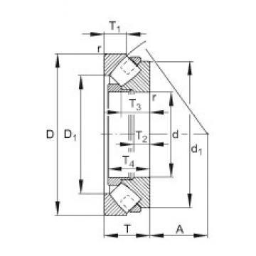 FAG 29272-E-MB roulements à rouleaux de poussée