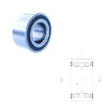 40 mm x 72 mm x 37 mm  PFI PW40720037CS roulements à billes à contact oblique
