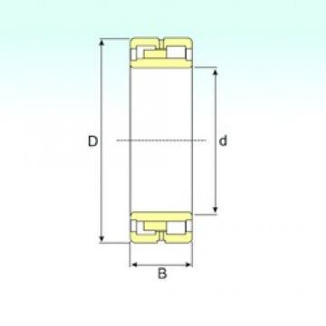 850 mm x 1360 mm x 500 mm  ISB NNU 41/850 M/W33 roulements à rouleaux cylindriques