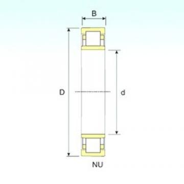 75 mm x 160 mm x 37 mm  ISB NU 315 roulements à rouleaux cylindriques