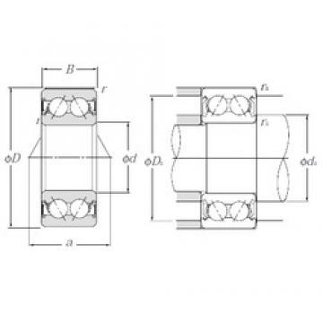 17 mm x 47 mm x 22,2 mm  NTN 5303SCLLD roulements à billes à contact oblique