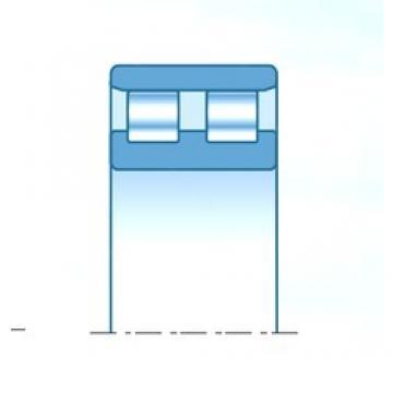 130 mm x 210 mm x 64 mm  NTN NN3126C1NAP4 roulements à rouleaux cylindriques