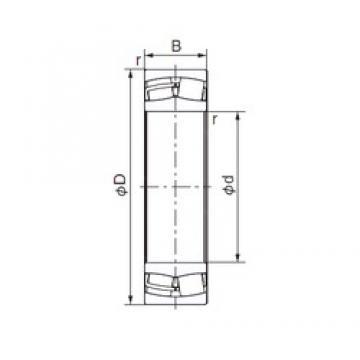 85 mm x 150 mm x 49,2 mm  NACHI 23217E roulements à rouleaux cylindriques