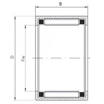 ISO HK3220 roulements à rouleaux cylindriques