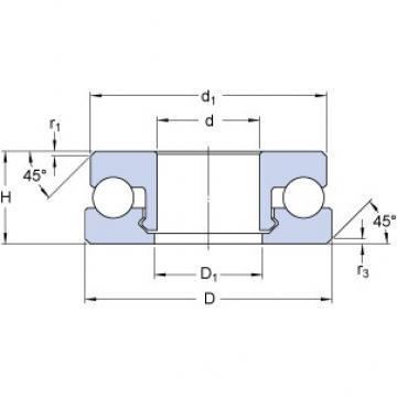 SKF 51100 V/HR11Q1 butées à billes