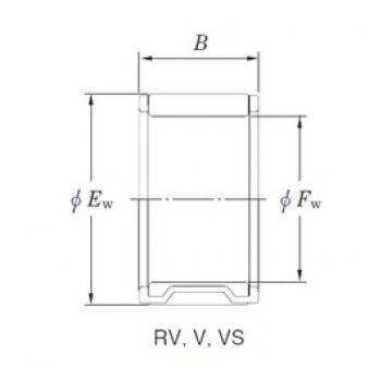 KOYO RV223020-1 roulements à aiguilles