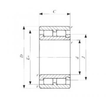 15 mm x 28 mm x 13 mm  IKO NAG 4902 roulements à rouleaux cylindriques