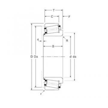 35 mm x 72 mm x 26 mm  Gamet 100035/100072 Roulements à rouleaux coniques