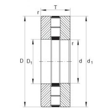INA 89426-M roulements à rouleaux de poussée