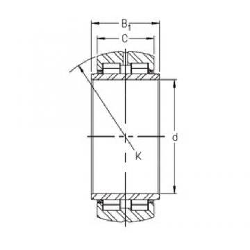 INA SL06 034 E roulements à rouleaux cylindriques