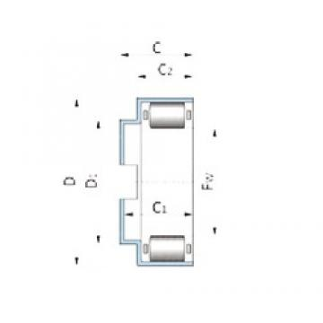 INA F-93435.2 roulements à rouleaux cylindriques