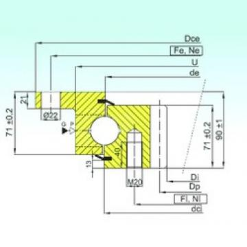 ISB ZBL.30.1355.201-2SPTN butées à billes