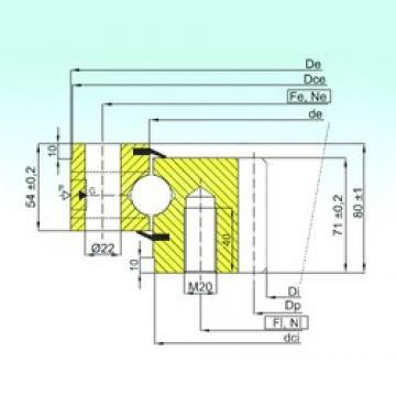 ISB ZB1.25.0555.201-2SPTN butées à billes