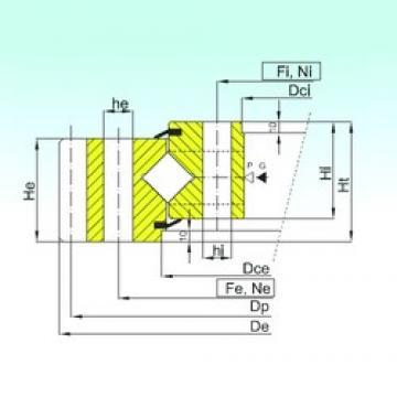 ISB ER1.45.1790.400-1SPPN roulements à rouleaux de poussée