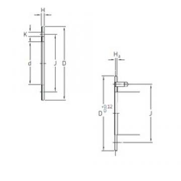 SKF PCMW 426601.5 E paliers lisses