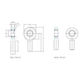 SKF SA70TXE-2LS paliers lisses