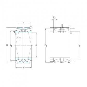 SKF 31318T103J2/DB31 Roulements à rouleaux coniques