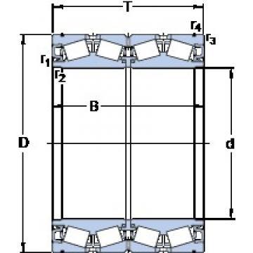 300 mm x 440 mm x 280.99 mm  SKF BT4B 334126 G/HA1VA901 Roulements à rouleaux coniques