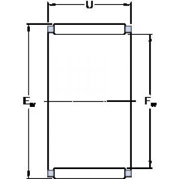 SKF K 16x22x20 roulements à rouleaux cylindriques