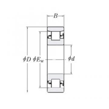 120,65 mm x 254 mm x 50,8 mm  RHP MRJ4.3/4 roulements à rouleaux cylindriques