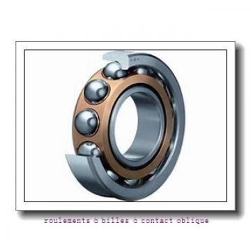 30 mm x 135,8 mm x 66,9 mm  PFI PHU2034 roulements à billes à contact oblique